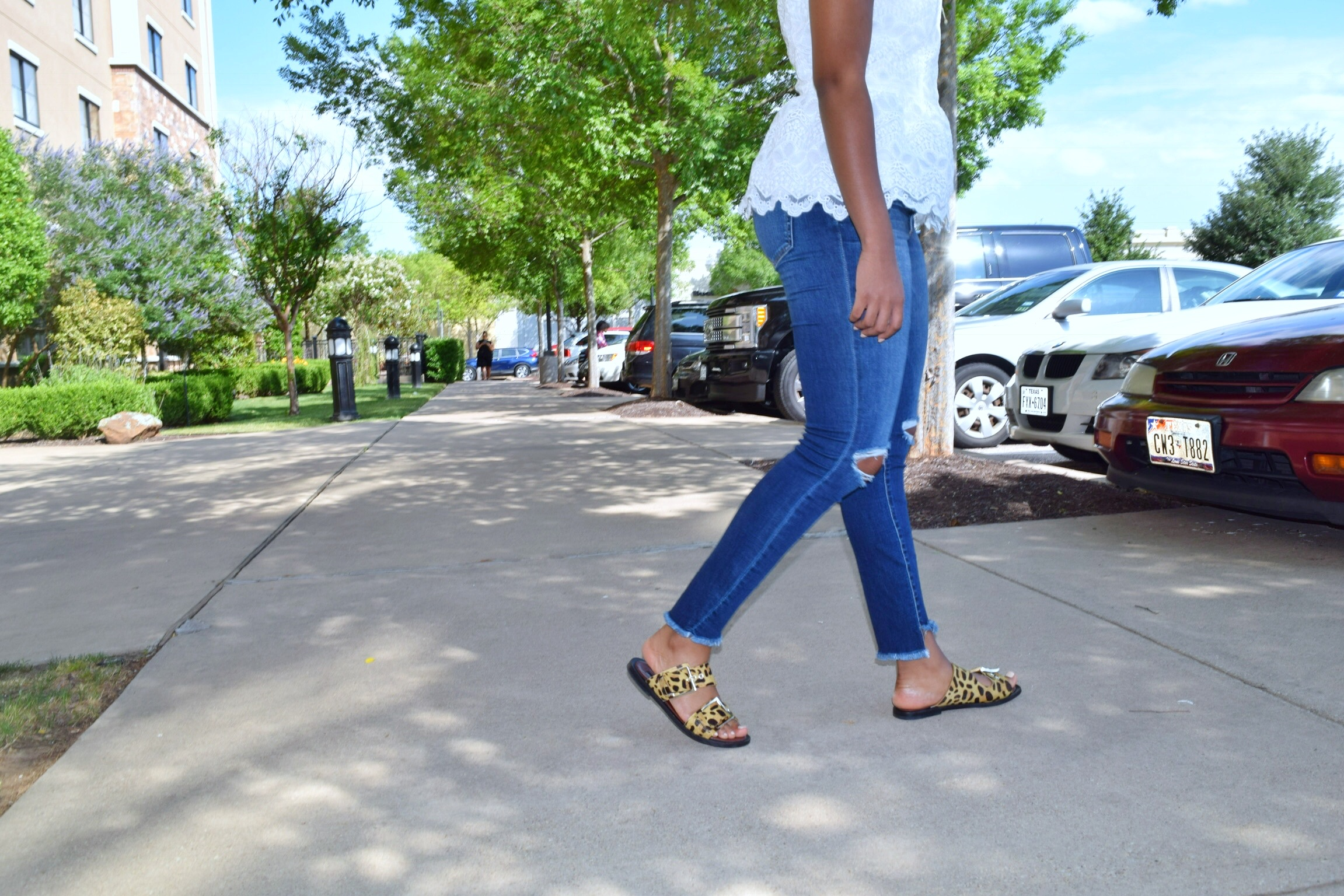 Haute Step Hems and Holes: Jeans Today