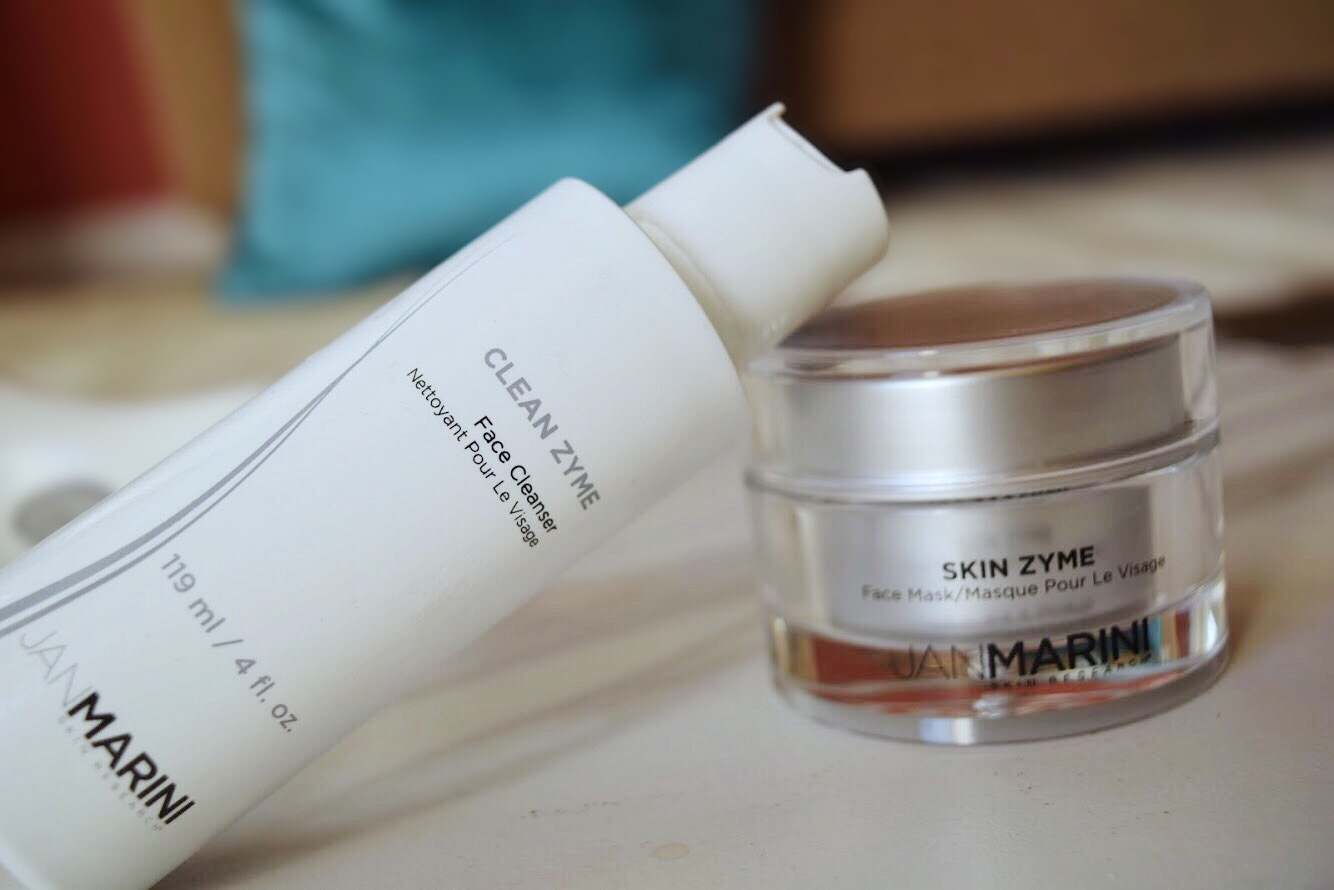 Unplug and Polish with Clean Zyme Cleanser and Mask